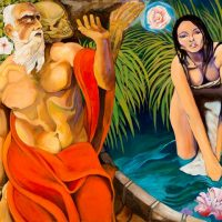 Saint Jerome and the Mystic Rose